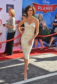 Teri Hatcher Premiere of Disney's Planes pres. by Target El Capitan Theatre in Hollywood on August 5, 2013