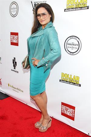 Tia Carrere Gutshot Straight Premiere in Los Angeles 12.08.13