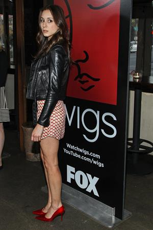 Troian Bellisario 1 Year Anniversary Of The WIGS Digital Channel, May 3, 2013