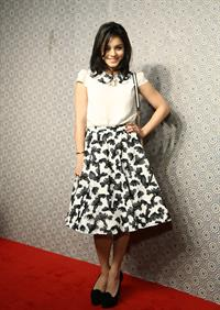Vanessa Hudgens Alice Olivia By Stacey Bendet Fashion Show in New York City, February 11, 2013