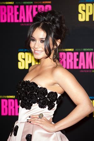 Vanessa Hudgens Spring Breakers premiere in Paris 2/18/13