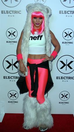 Vanessa Hudgens hosts 2013 Electric Run Los Angeles 5/24/13