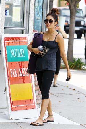 Vanessa Hudgens Leaving yoga class in Santa Monica on July 2, 2013