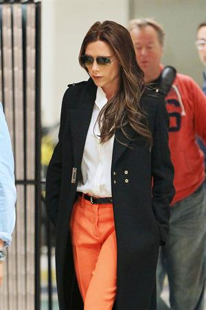 Victoria Beckham - John F. Kennedy International Airport in New York on May 8, 2013