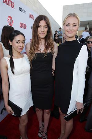 Yvonne Strahovski Showtime Celebrates 8 Seasons Of  Dexter , June 16, 2013