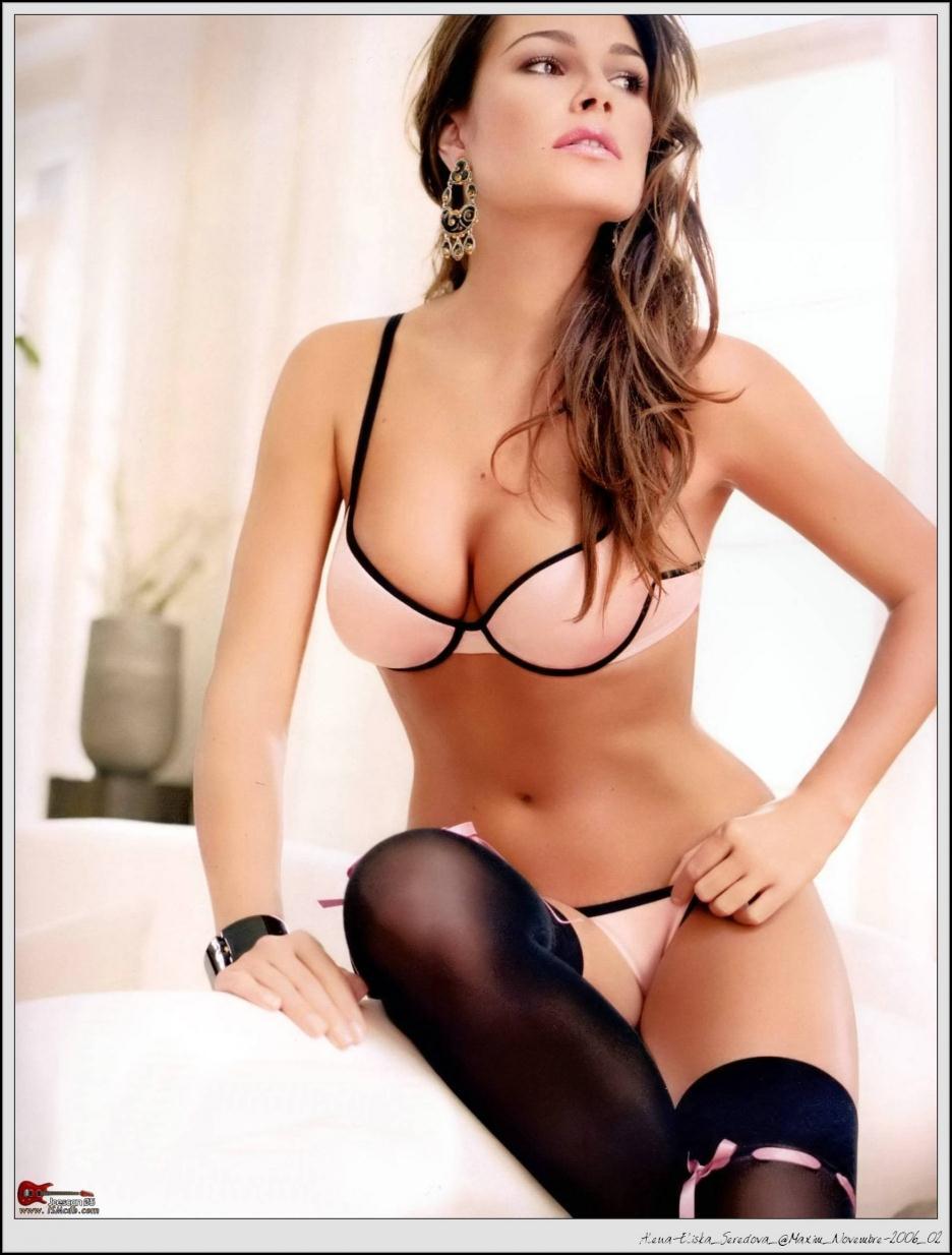 Alena Seredova in lingerie