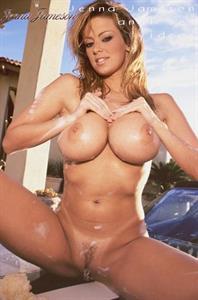Jenna Jameson - pussy and nipples