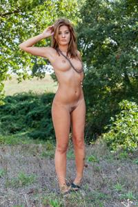Edwige A in the Outdoors