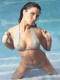 Pilar Rubio in a bikini