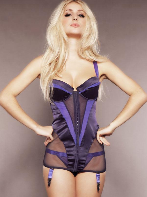 Nicole Neal in lingerie