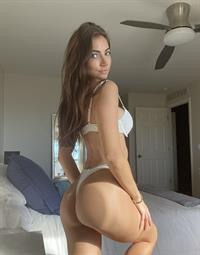 Anna Louise in a bikini - ass