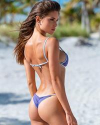 Bonnie Janina Mueller in a bikini
