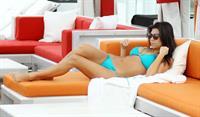 Kourtney Kardashian in a bikini