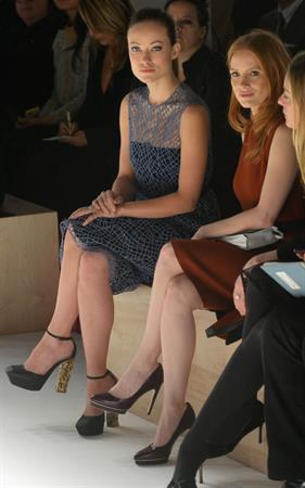 Olivia Wilde attends Calvin Klein Fall 2013 Presentation in New York City - February 14, 2013