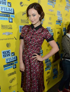 Olivia Wilde at  Drinking Buddies  Premiere at SSW Festival in Austin - March 9, 2013