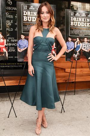 Olivia Wilde  Drinking Buddies  Brooklyn Screening - Nitehawk Cinemas in New York City - August 19, 2013