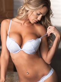 Charlie Riina in lingerie
