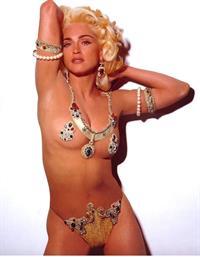 Madonna in a bikini