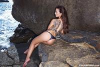 Helen de Muro in a bikini - ass