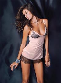 Veronika Istomina in lingerie