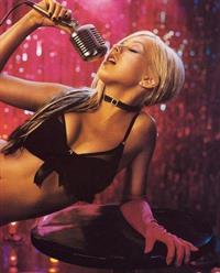 Christina Aguilera in lingerie