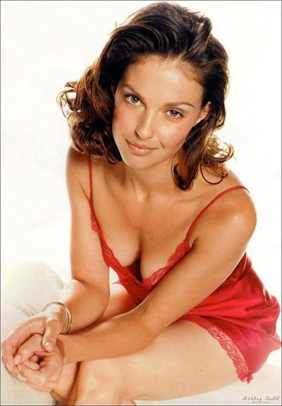 Ashley Judd in lingerie