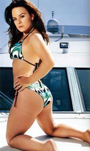 Jenna von Oÿ in a bikini