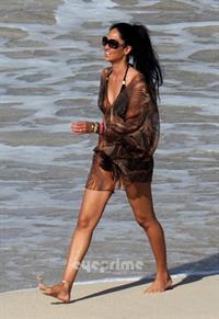 Kimora Lee Simmons in a bikini