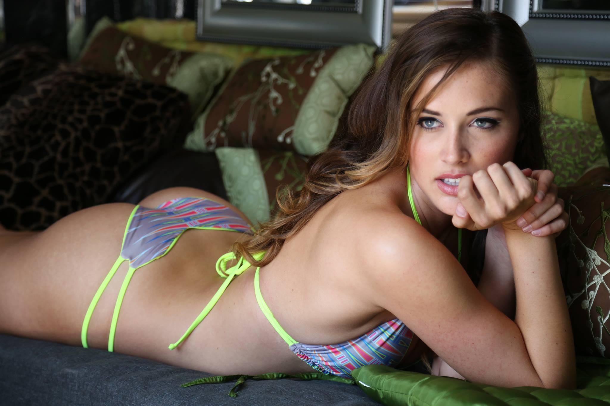 Mikayla Carr in a bikini - ass