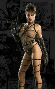 Rosario Dawson in lingerie