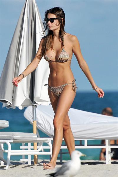 Behati Prinsloo in a bikini