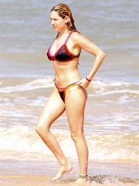 Kelly Brook in a bikini