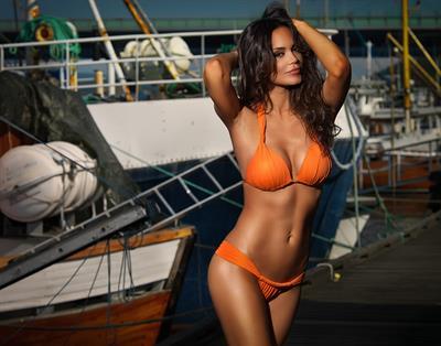 Ivana Kukric in a bikini