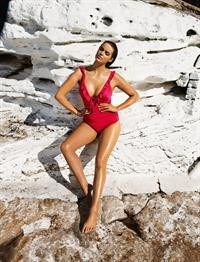 Robyn Lawley in a bikini
