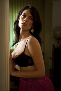 Julia Voth in lingerie