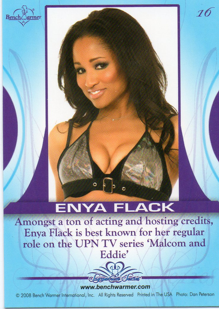 Enya Flack in a bikini