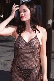 Rose McGowan - breasts