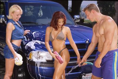 Anastasia Blue in a bikini