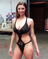 Alyssa Arce in a bikini