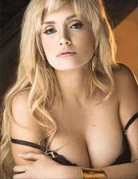Lisette Morelos in lingerie