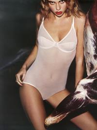 Suki Waterhouse in lingerie