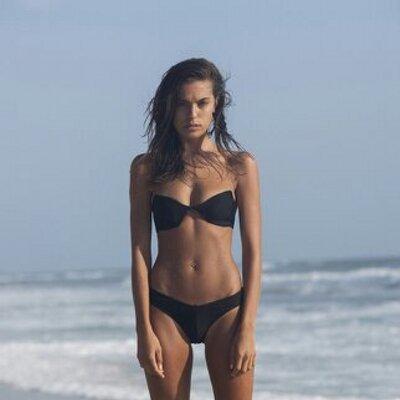 Laura Andric in a bikini