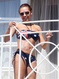 Melanie Brown (Scary Spice) in a bikini
