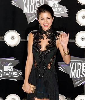 Selena Gomez 2011 MTV video music awards on August 28, 2011