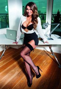 Luisa Zissman in lingerie