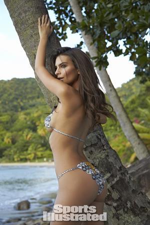Emily Ratajkowski Sports Illustrated 2014 - Body Paint