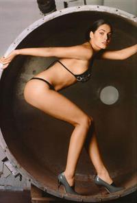 Yuliya Snigir in a bikini
