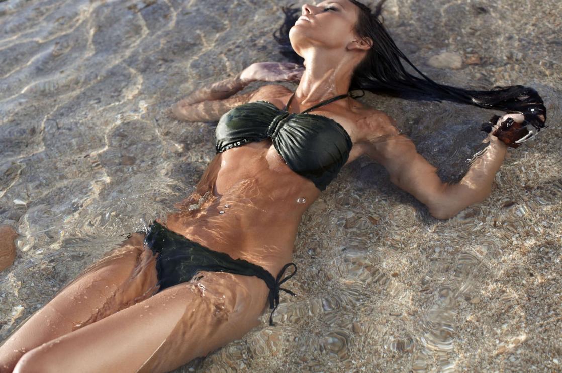 Michelle Keegan in a bikini