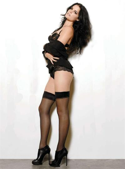 Jaimie Alexander in lingerie