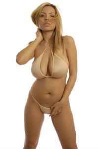 Yurizan Beltran in a bikini